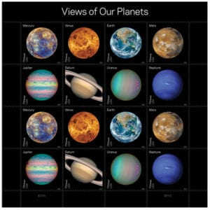 Planets Pluto Stamps May 2016 Recap