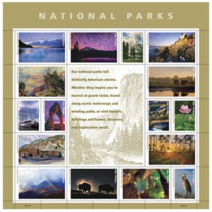National Parks Centennial Stamps released