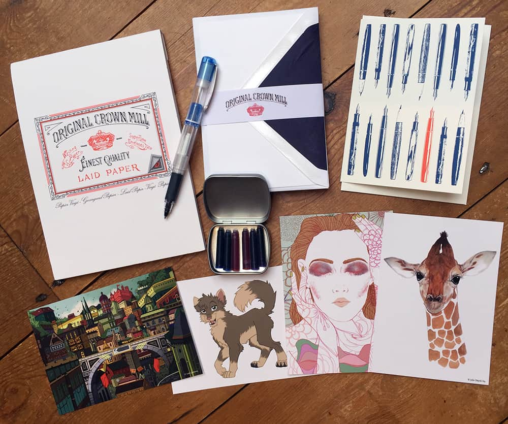 Spotlight Stationery Curated Subscription Box