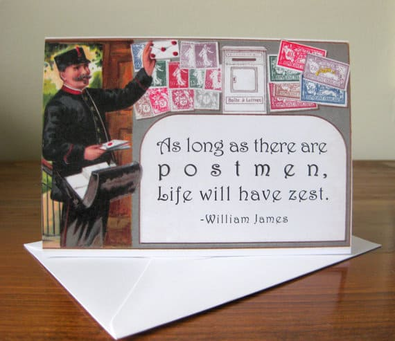 Missive Maven original mail-themed stationery
