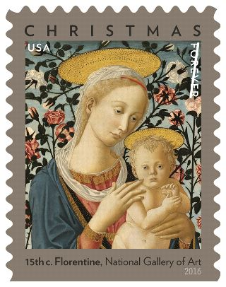 Florentine Madonna and Child Forever Stamp