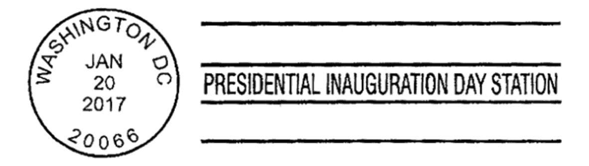 Presidential Inauguration Day Station 2017