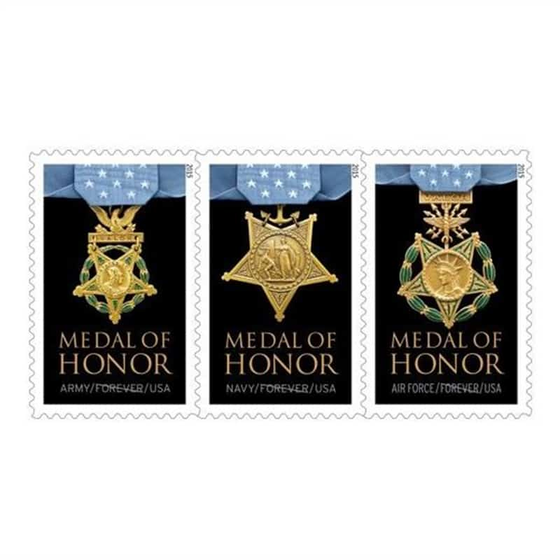 Forever® Medal of Honor stamp debuts today