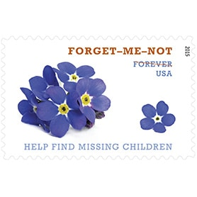 Forever® Forget-Me-Not stamp debuts today