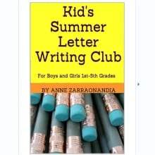 """""""Kid's Summer Letter Writing Club"""""""