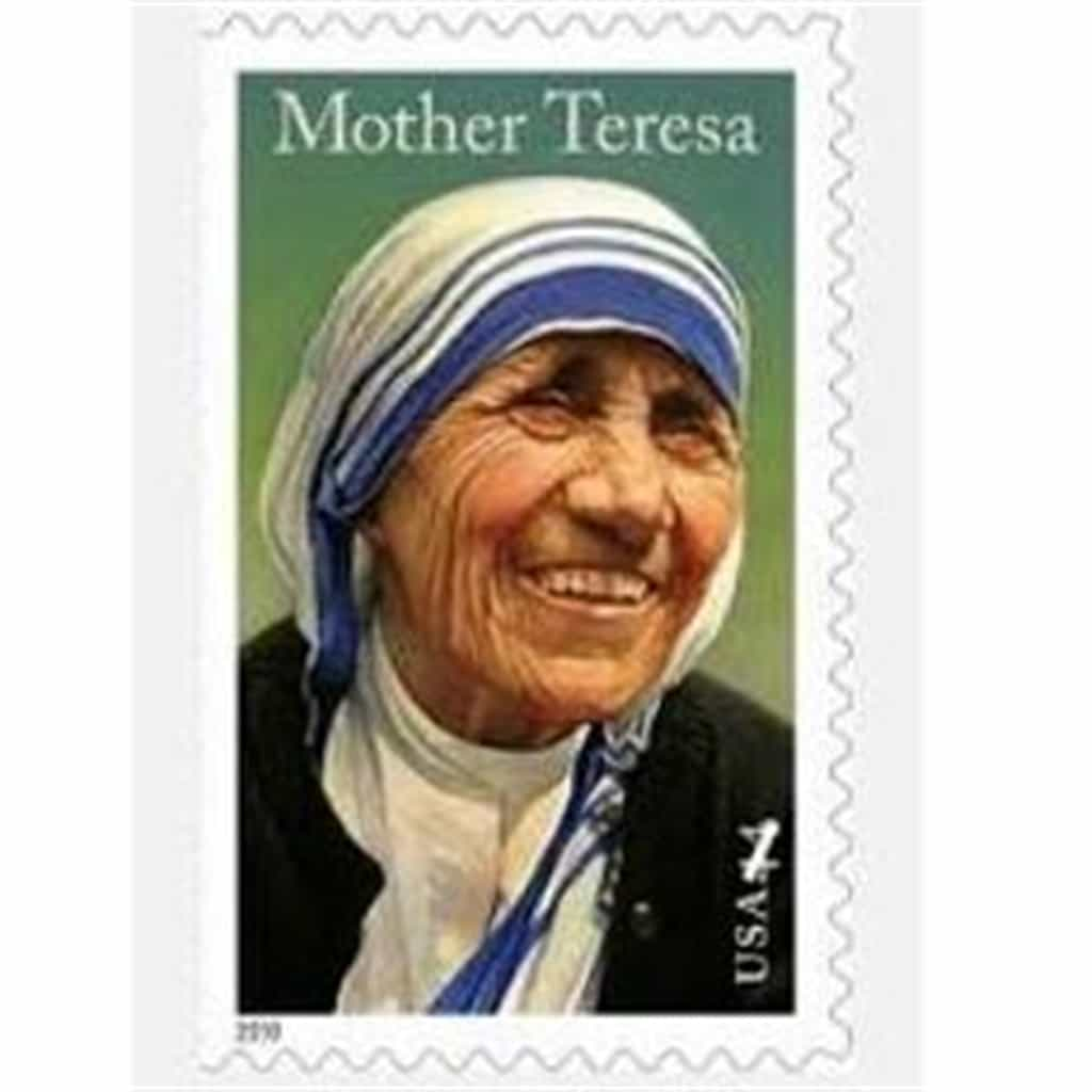 """Do It Anyway"" (Mother Teresa poem & stamp)"