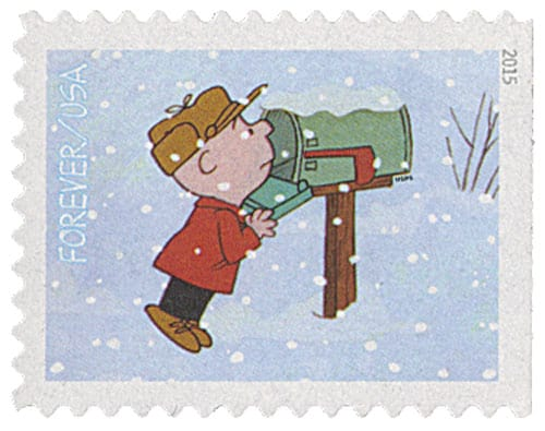 Charlie Brown Christmas Stamp Caption Contest