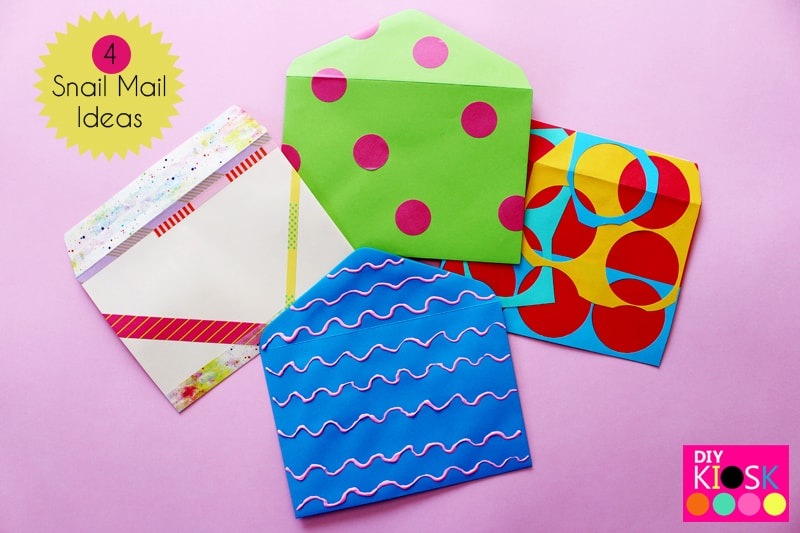 """Fun Snail Mail Ideas"""