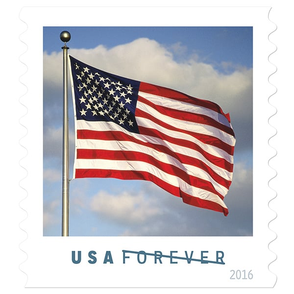 New U.S. Flag Stamp