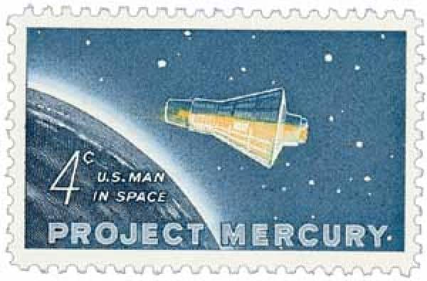 Project Mercury Stamp