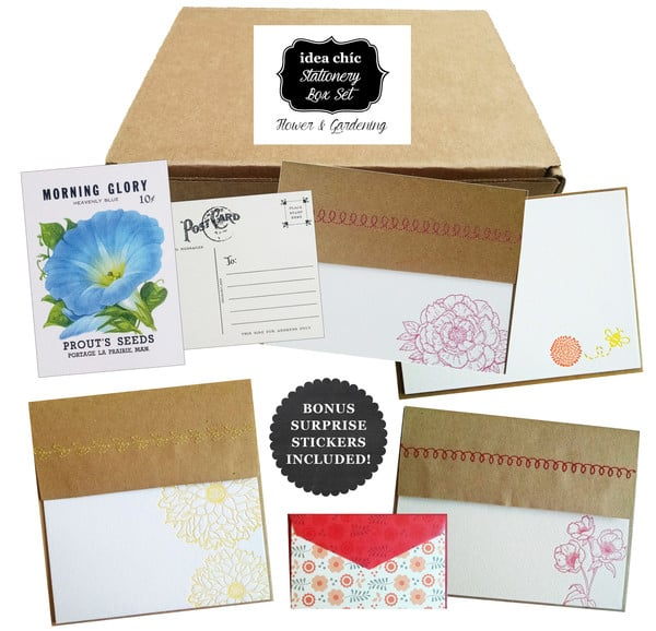 Idea Chic Stationery Subscription Boxes