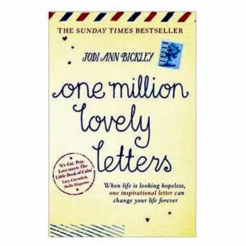 One Million Lovely Letters book by Jodi Ann Bickley