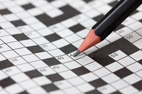 Letter Writing Inspired Crossword Puzzles