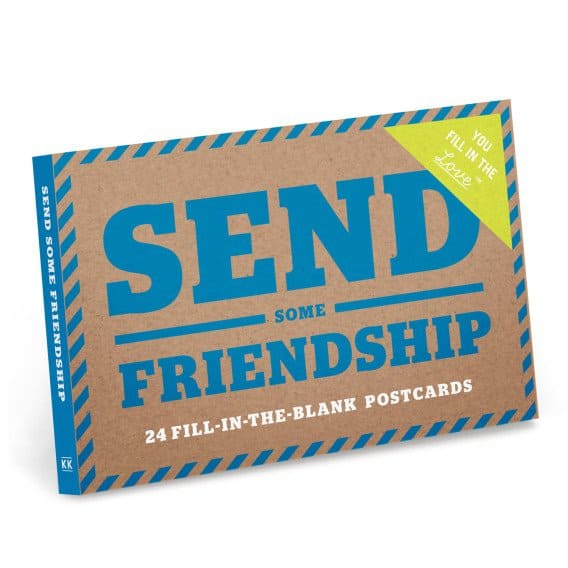 Send Some Friendship Postcard Books