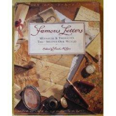 Famous Letters book _Frank McLynn Editor