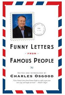 "Revisiting Charles Osgood ""Funny Letters From Famous People"" book"