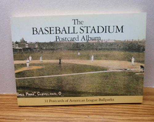 Baseball Stadium Postcard Albums