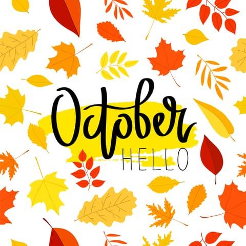 October Garage Sales Letter Writing Finds