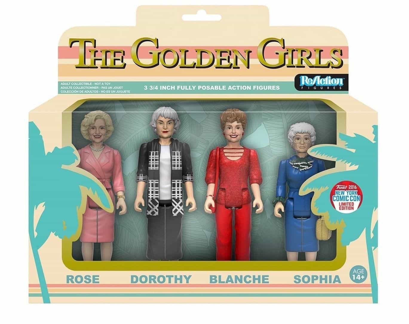 Golden Girls Action Figures & Stationery