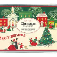 Cavallini Vintage Christmas Mailing Set