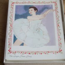 Vintage Sugar Plum Fairy Nutcracker Cards