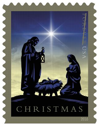 USPS 2016 Christmas Nativity Stamp