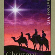 Epiphany Three Kings Day Christmas Magi Stamp