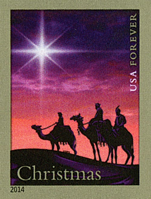 Epiphany Three Kings Day Christmas Magi Stamp