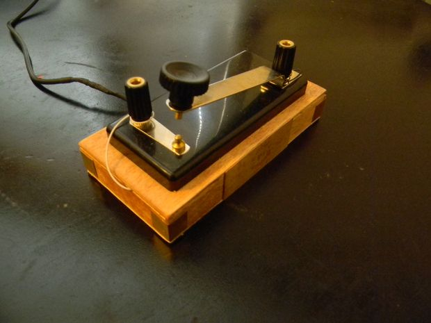 Steampunk Telegraph Key Mouse Tails