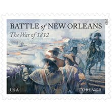 Battle of New Orleans stamps