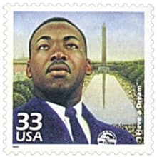 """I Have a Dream"" 1999 stamp"