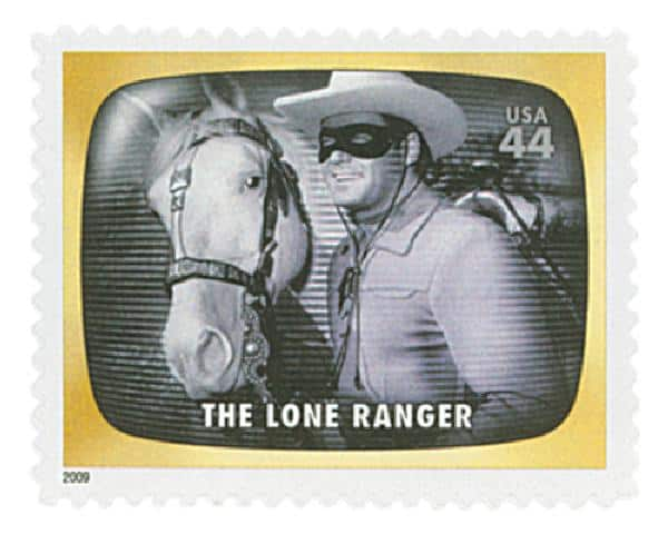 The Lone Ranger 2009 stamp