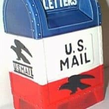 Vintage Mailbox Cookie Jars