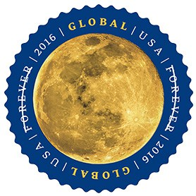 Goodnight Moon USPS Global Stamp The Moon