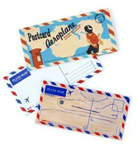 Balsa Wood Postcard Aeroplane