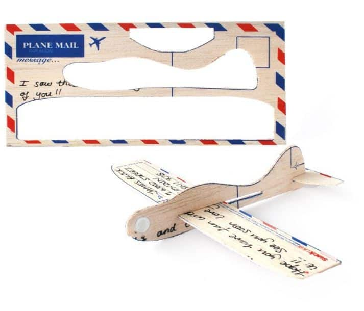 Ode to Dad's Model Airplane & Balsa Wood Postcard Aeroplanes