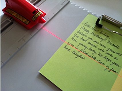 Beam Me Up! SlideWriter Laser Guide Letter Writing Calligraphy