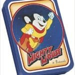 Mighty Mouse Postcards in Tin Box