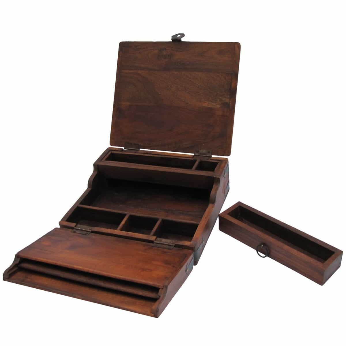 Quest continues for the perfect Antique Style Writing Lap Desk for Letter Writing