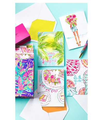 Lilly Pulitzer Assorted Notecard Set