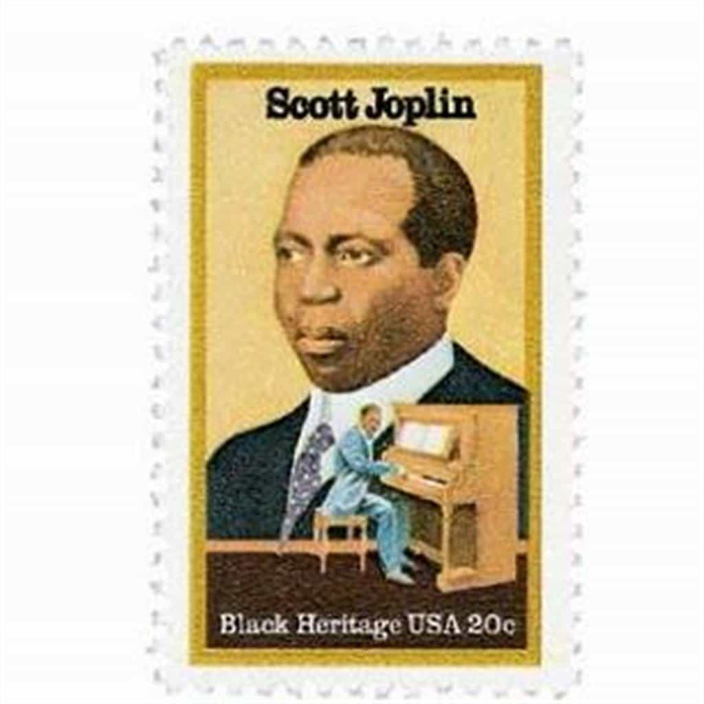 The Entertainer Scott Joplin Anniversary Station Pictorial Postmark