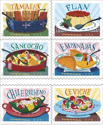 2017 USPS Delicioso Forever Stamps Now Available