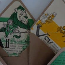 There's No Place Like Wizard of Oz Envelopes