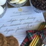 Cookies and Cursive Handwriting Summer Camp