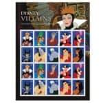 USPS Disney Villains Stamps