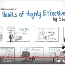 Animated Book Review Covey 7 Habits