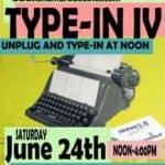 Michigan Vintage Typewriter TypeIn
