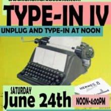 Celebrating Vintage Typewriter TypeIn & More REH