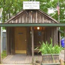 Bridal Veil Oregon Post Office Hand Cancels