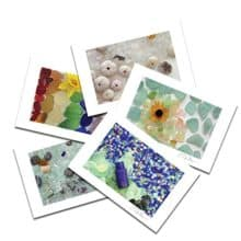 Sea Glass Variety Postcard Prints